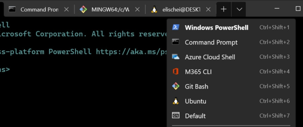 Cover image for How to create multiple profiles for Windows Terminal