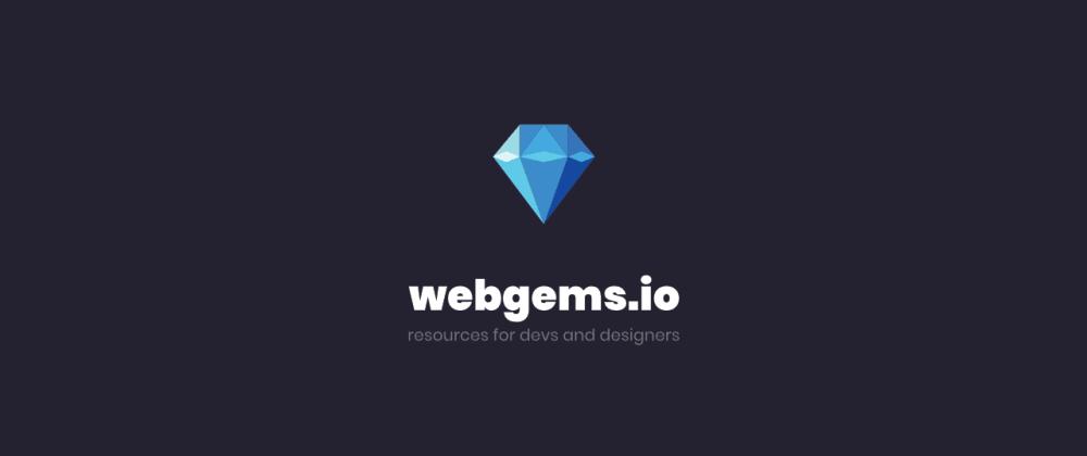 Cover image for webgems.io 💎 a devs startpage