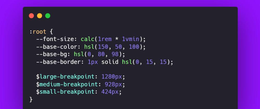 Cover image for Variáveis CSS x Variáveis Sass - Quando usar?