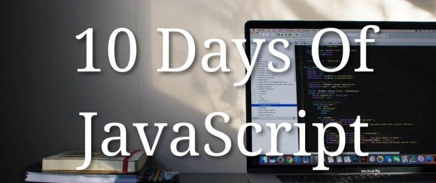 10 Days of javascript