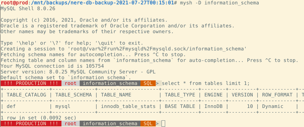 Cover image for MySQL shell: the best tool for your logical backups