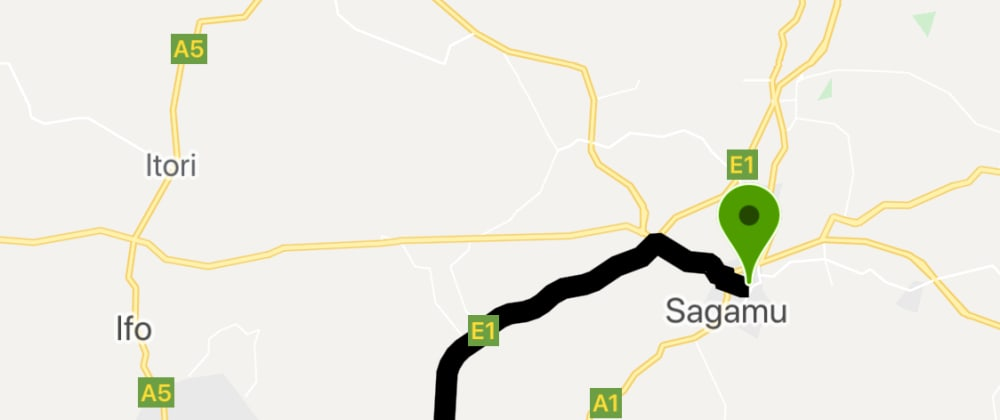 Cover image for Adding Route Paths (Polylines) Between two Points to Google Maps in Flutter