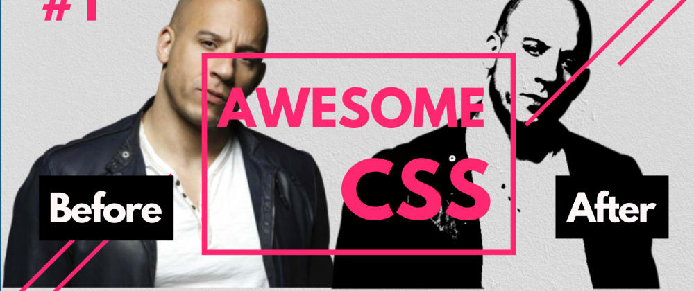 Cover image for AwesomeCSS #1 | Apply Image Filters Just Using CSS
