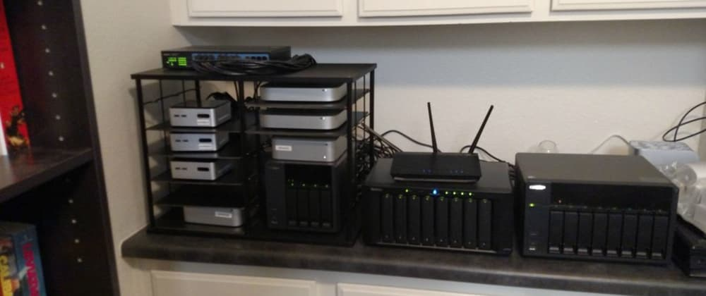 Cover image for Why you may need a dedicated homelab.