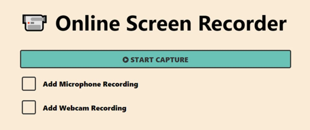 Cover image for Created a Screen Recorder Extension with GIF download :)