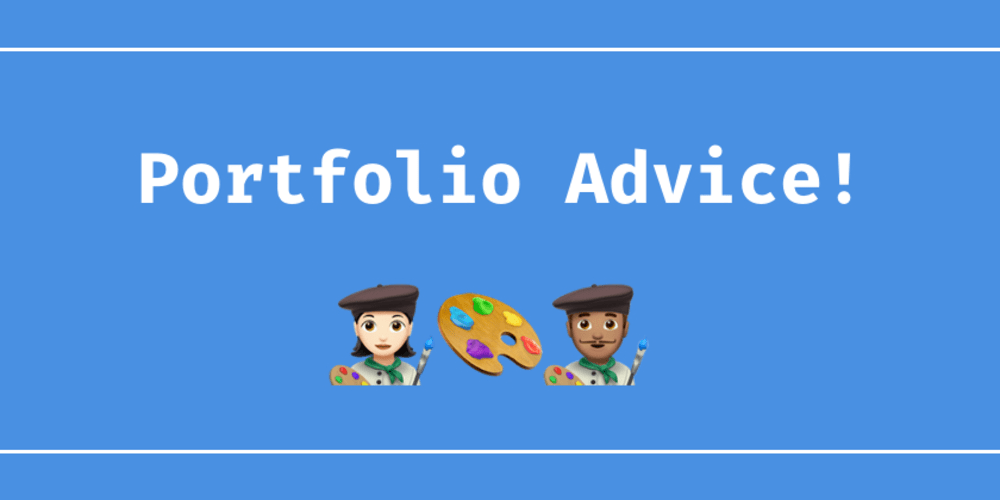 Portfolio Advice Thread - DEV Community 👩 💻👨 💻