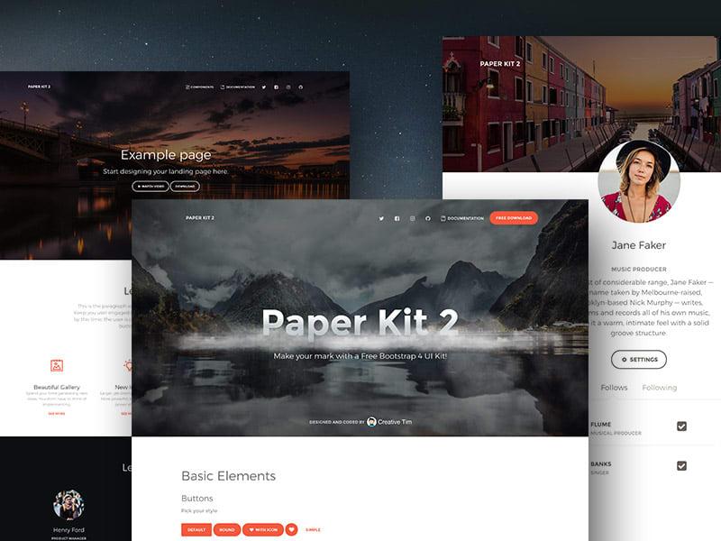 Free UI Kit - Paper UI, product thumbnail image
