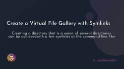 article cover for <br>  Create a Virtual File Gallery with Symlinks<br>