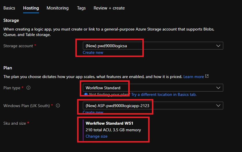 CreateLogicAppHosting