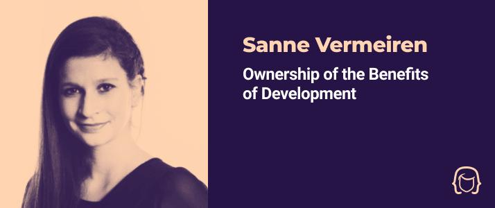 Sanne Vermeiren - Ownership of the Benefits of Development