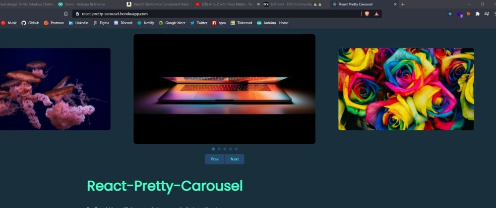 Cover image for Create beautiful carousels or Image Sliders on React with this framework