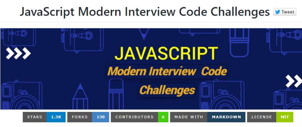 Cover image for JavaScript Modern Interview Code Challenges
