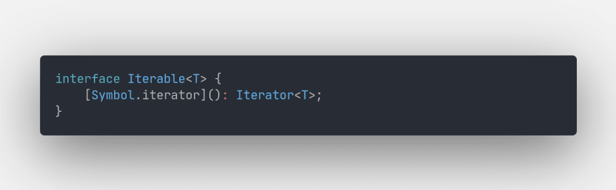 Iterable interface