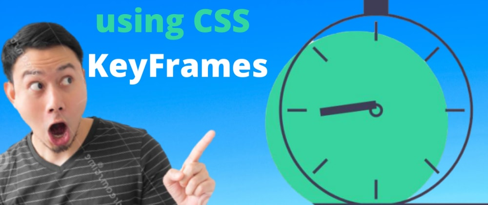 Cover image for CSS Animated Clock SVG Design using Keyframes