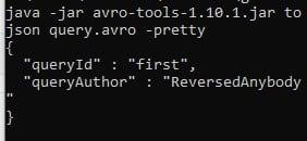 Avro-tools