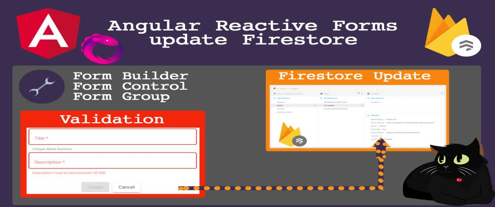 Cover image for Angular Material Reactive Forms Update Firestore