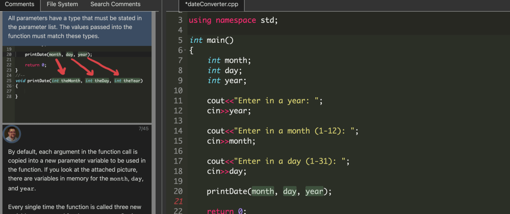 Cover image for Programming in C++ (Part 5 Functions)