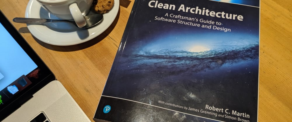 Cover image for Clean Architecture - a short book review