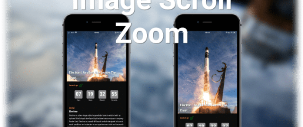 Cover image for Image Scroll Zoom in React Native