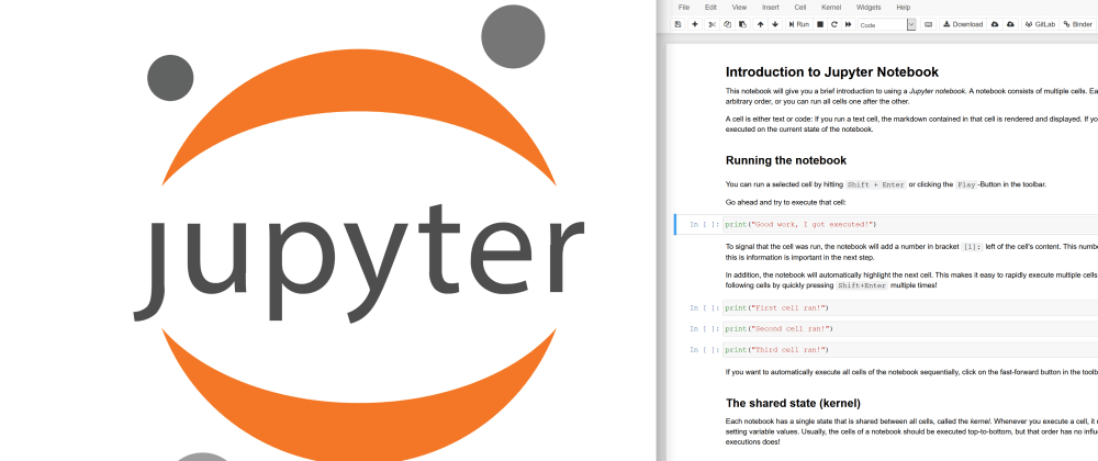 Cover image for An Introduction to Using Jupyter Notebooks