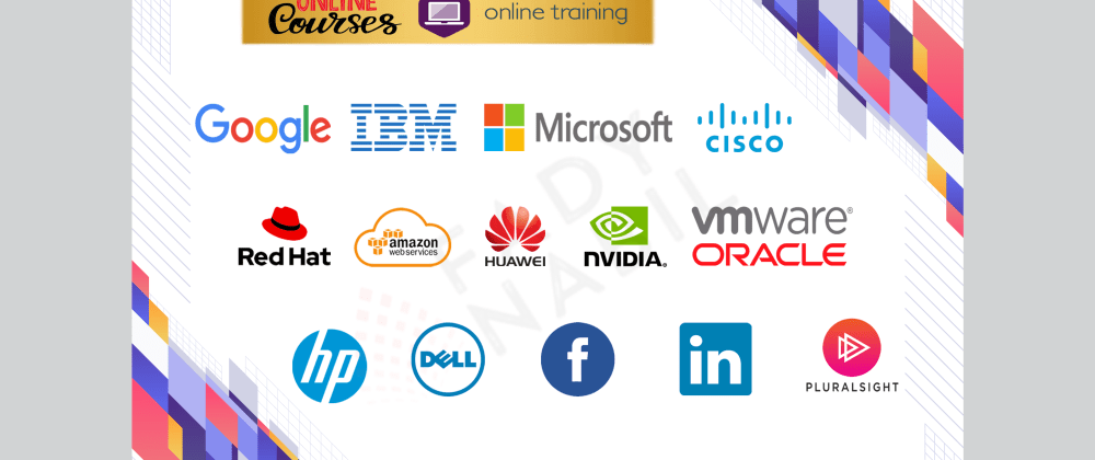 Cover image for Online courses (for free) offered by international companies in several fields