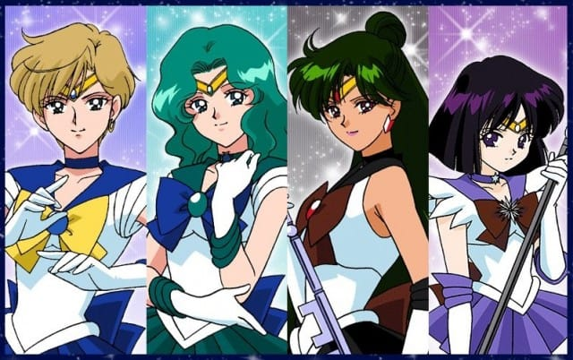 Outer Sailor Scouts