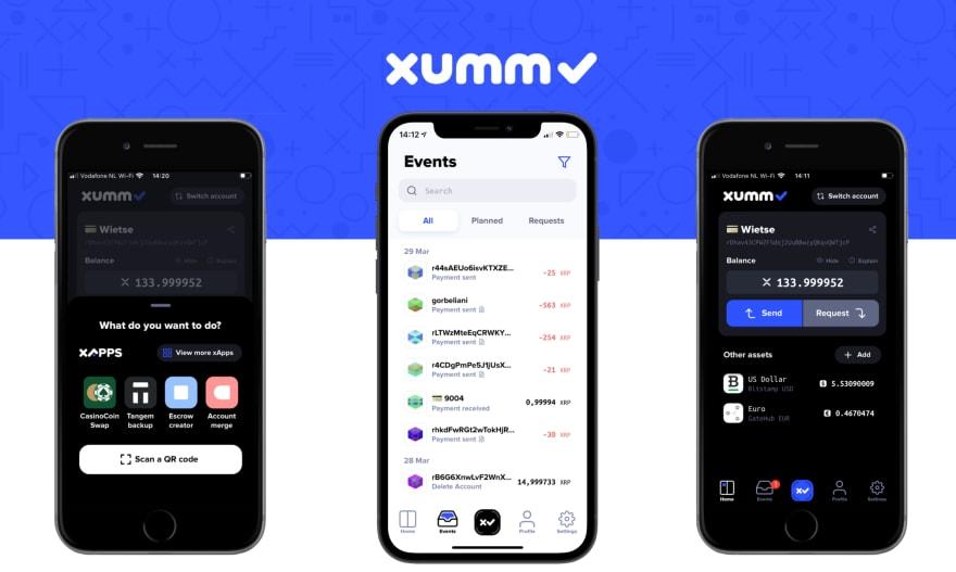 XUMM Dark Mode