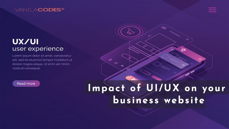 Impact of UI/UX on your business website
