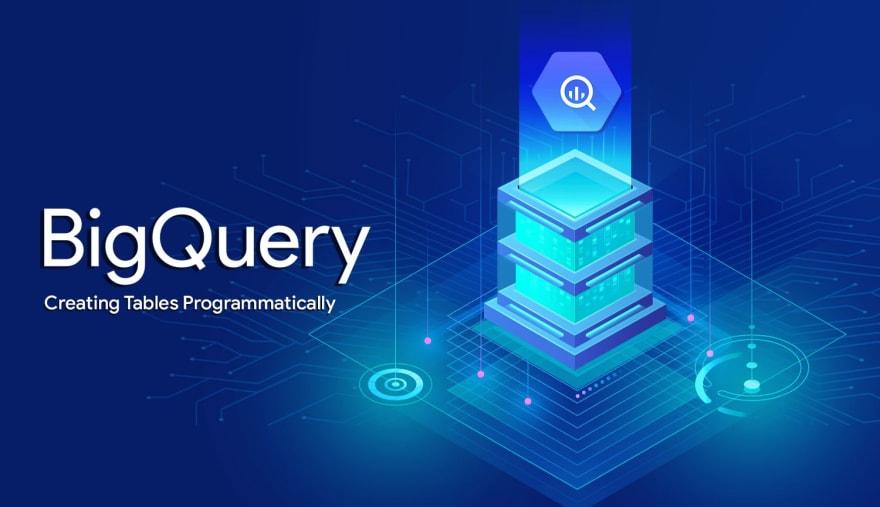 Google BigQuery's Python SDK: Creating Tables Programmatically