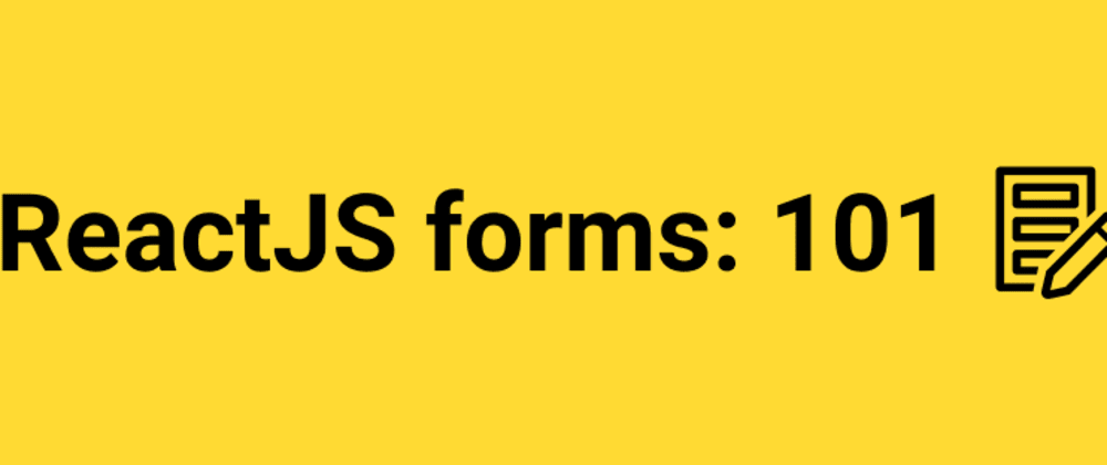 """Cover image for How to create a contact form in React.js for beginners"""""""