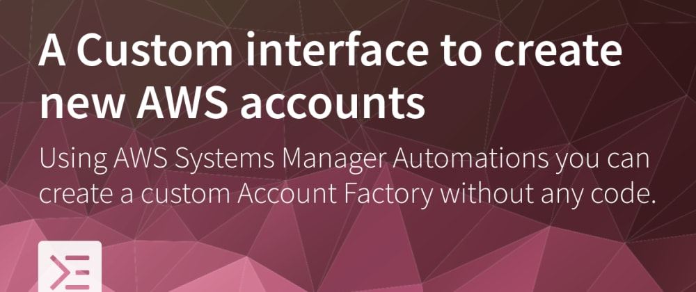Cover image for Custom interface for Account Factory in AWS Control Tower