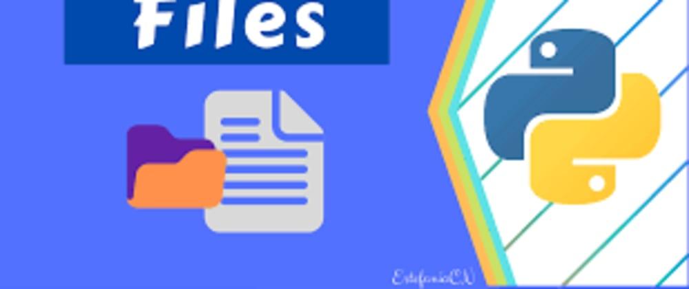 Cover image for Python: File I/O