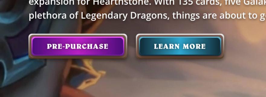 Screenshot from playhearthstone.com
