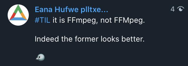A plain tweet