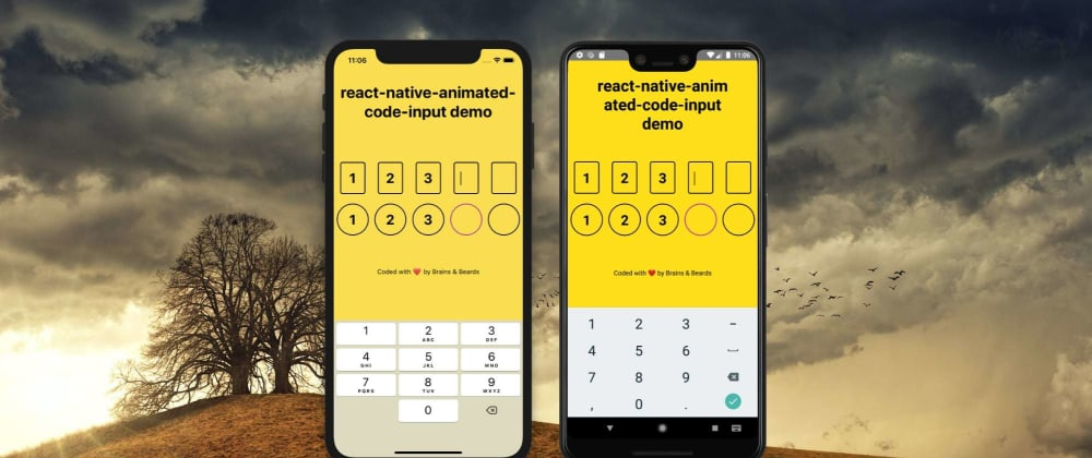 Cover image for React Native Animated Code Input