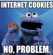Cookie monster eat internet cookies