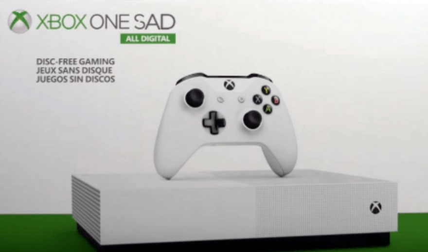 Xbox One Sad
