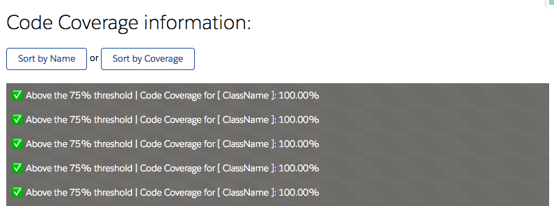 How to Query Salesforce Code Coverage - DEV Community