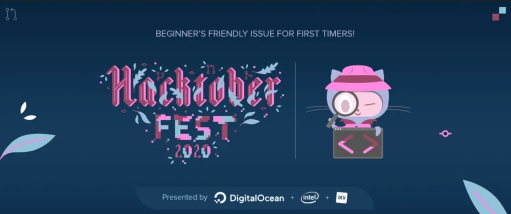 Cover image for  Happy Hacktoberfest 2020!