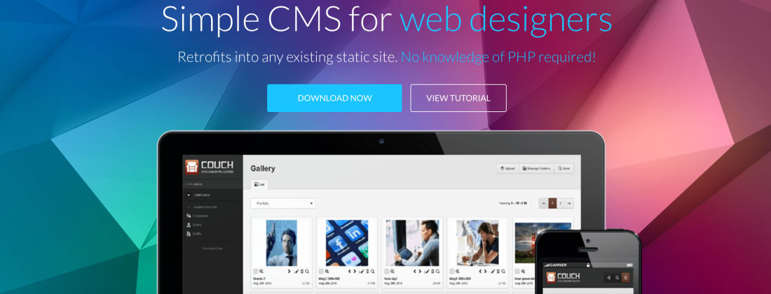 Couch CMS and the lazy developer