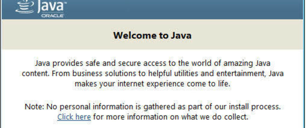 Cover image for 2. Installation of Java