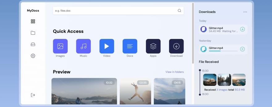 File Sharing Web App