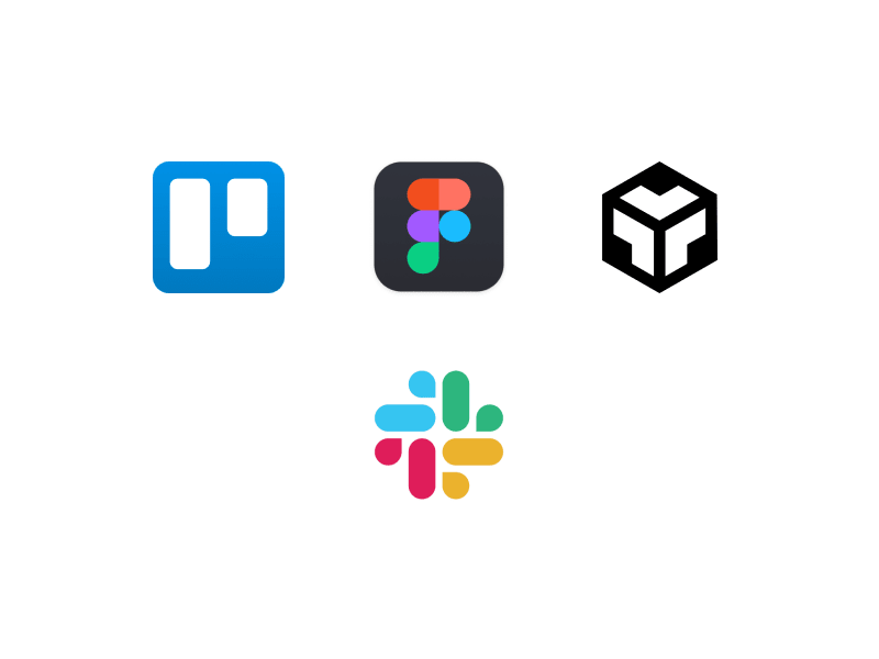 A simple workflow for designers and developers with just four apps.