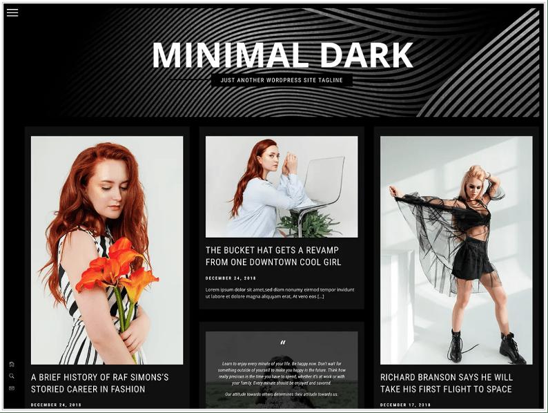 Minimal Dark – Themematic