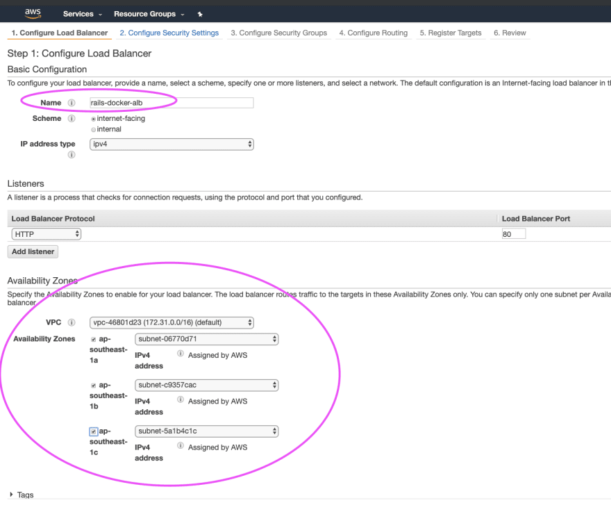 Deploy Rails in Amazon ECS: Part 3 - Create the RDS database