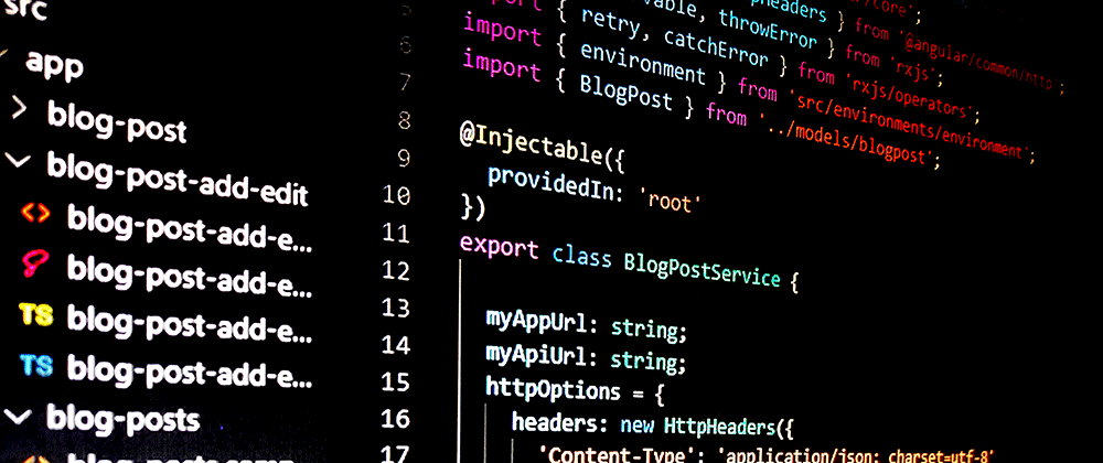 Cover image for Build an Angular 8 App with REST API and ASP.NET Core 2.2 - part 2