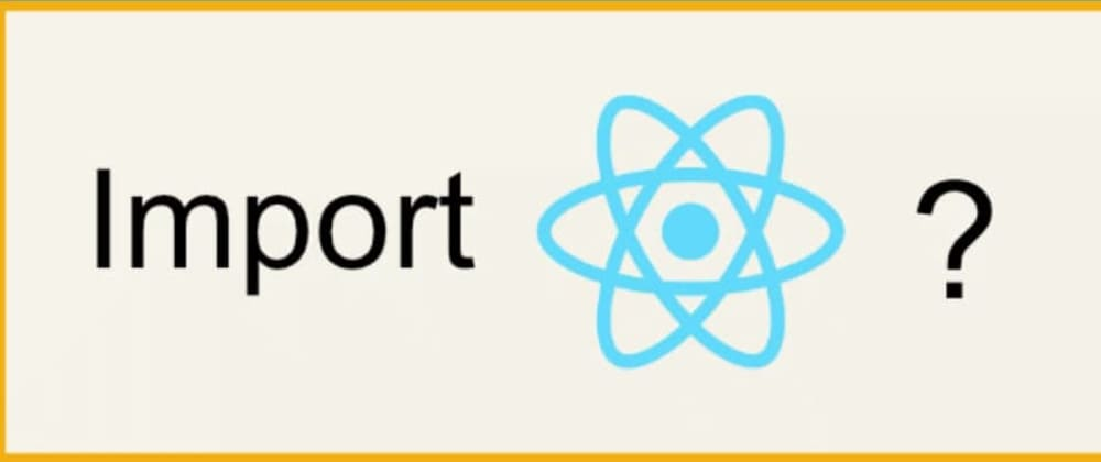 Cover image for You don't always need to import React