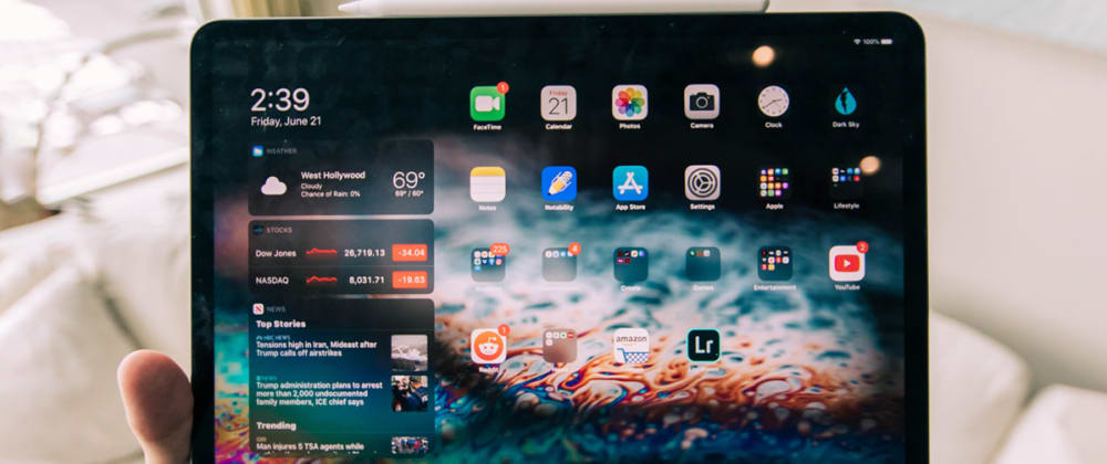 Cover image for A Web Developer's iPad Setup for Productivity