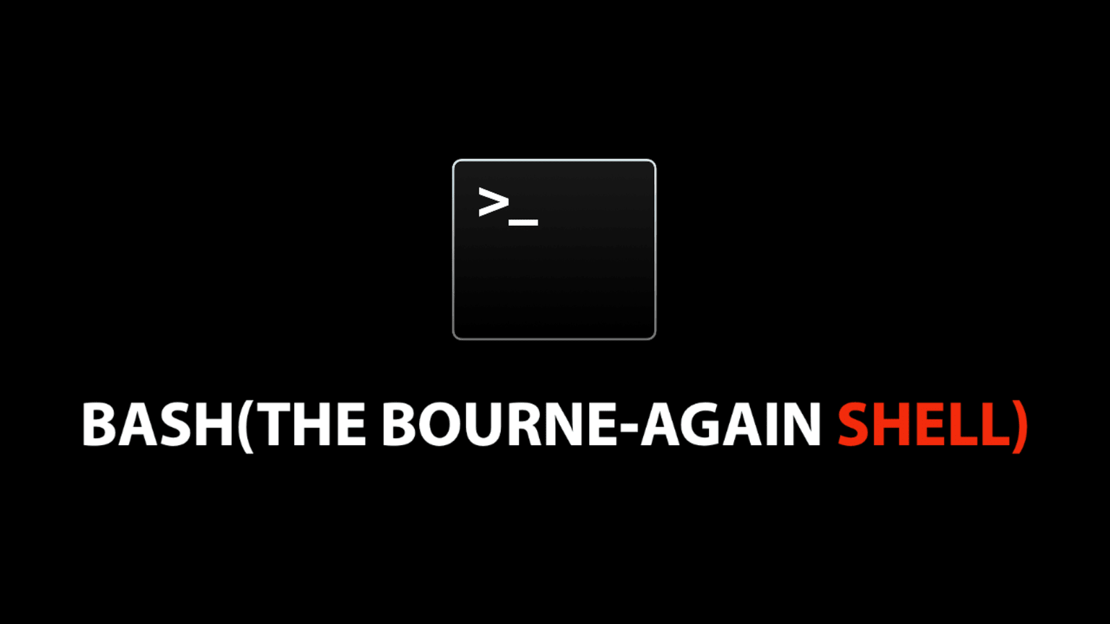An Overview Of Bash Bourne Again Shell Command Line Dev