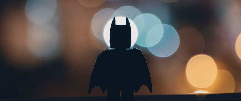 Cover image for If we're talking about learning... I'm Batman!